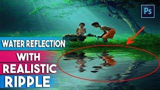Gerçekçi Dalgalar İle Photoshop CC Su Yansımaları Oluşturma