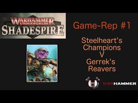 Warhammer Underworlds Shadespire: Game-Rep #1