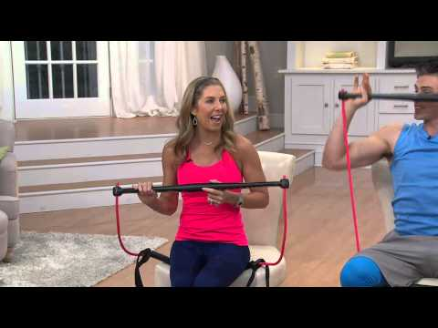 BodyGym Portable Home Gym Resistance System with Amy Stran