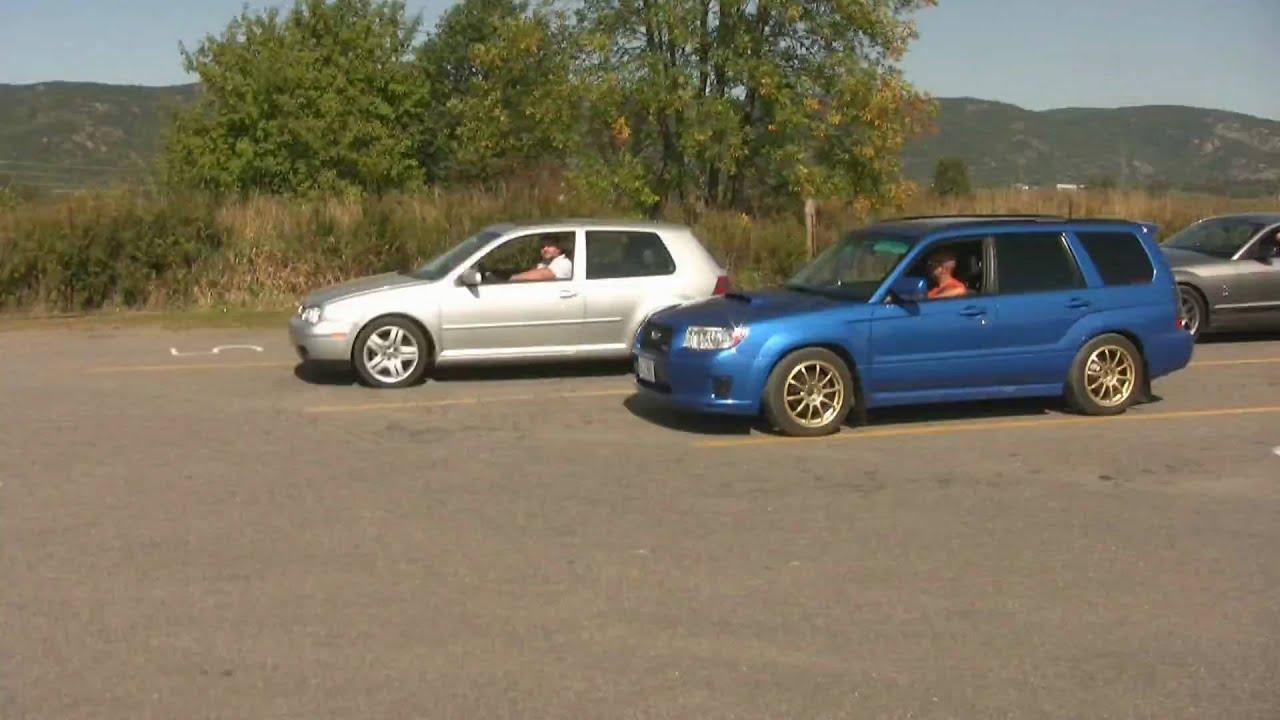 Subaru forester xt vs vw golf gti youtube subaru forester xt vs vw golf gti vanachro Choice Image