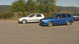 Subaru Forester XT vs VW Golf GTI