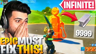 Epic ACCIDENTALLY Added A INFINITE Metal Spot! (FIX THIS NOW!) - Fortnite Battle Royale