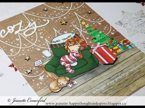Christmas Series 2017 | Day #4 Cozy Christmas December Daily Project