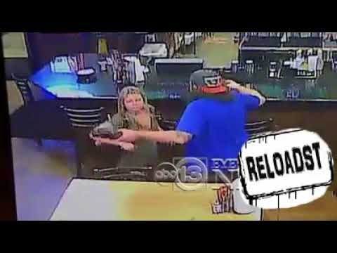 MAN in BAYTOWN TX threw food in the WOMAN'S FACE with a beer ON HIS HAND!! (Naruto's soundtrack)