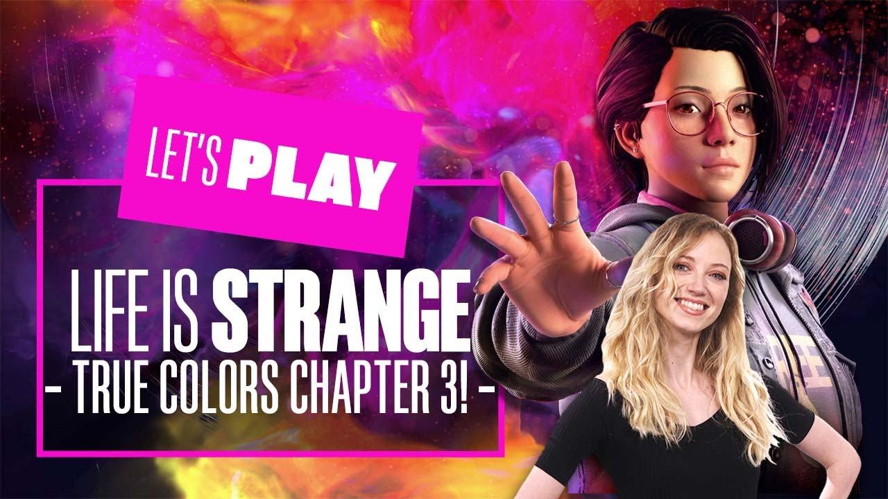 Download Let's Play Life is Strange: True Colors Chapter 3! - LIFE IS STRANGE TRUE COLORS PS5 GAMEPLAY