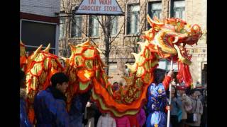 Chinese Lunar New Year 2017 Parade Year of the  Rooster China Town Chicago 年的公鸡