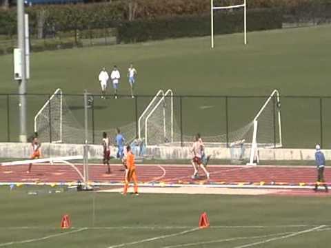 Ryan Barrett Brandon Dawson 400m vs UCLA 2012