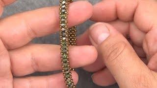 Nazo Tekniği ile Bileklik Yapımı   RAW Bracelet Tutorial
