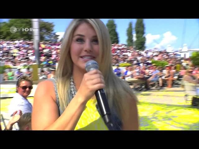 Смотреть видео Beatrice Egli Sieben mal Herz 28 08 2016