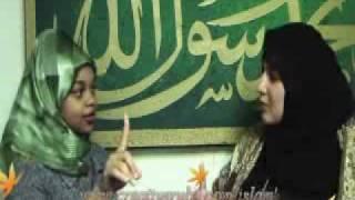 Shannon  jeune fille et devenu   musulmane-LIVE  shahada