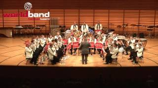 Brass Band Fribourg - The Wizard by George Allan (March)