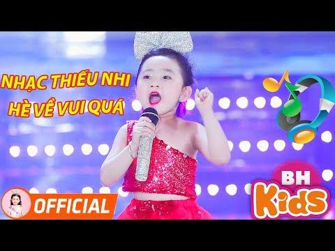 Nhạc Thiếu Nhi Vui Nhộn Sôi Động - Hè Về Vui Quá - Bé Candy Ngọc Hà - Nhạc Cho Bé
