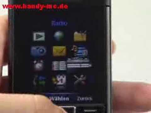 Sony-Ericsson C902 Bedienung