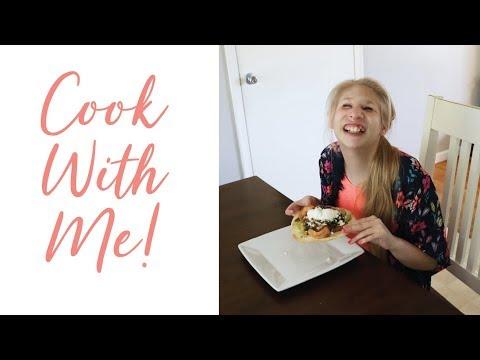 Cook With Us - Chipotle Shrimp Tostadas