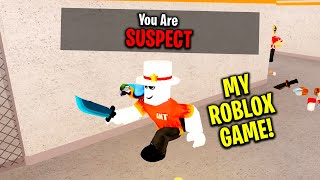 So I MADE A ROBLOX GAME.. It's called DETECTIVE (Roblox)