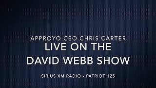 Approyo CEO Chris Carter on The David Webb Show