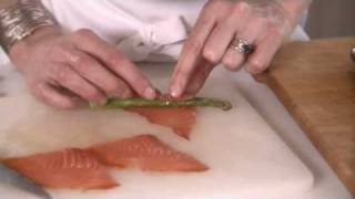 Asparagus Wrapped In Cold-smoked Salmon