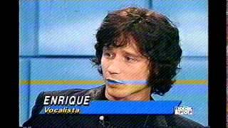 Héroes del Silencio en Chile - Entrevista programa Dínamo 1996 - Parte 01