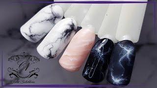 ❤Мраморный дизайн ногтей ❤3 ВАРИАНТА❤Натуральные текстуры ❤ПРОСТОЙ дизайн ногтей ❤ ТРЕНД 2017❤