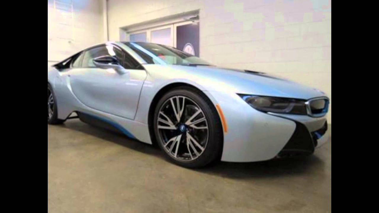 2016 Bmw I8 Ionic Silver Metallic With Frozen Blue Accent Youtube