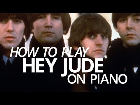 How To Play 'Hey Jude' - Piano Lesson (Pianote)
