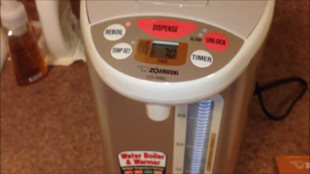 Zojirushi Electric Hot Water Boiler Heater Warmer