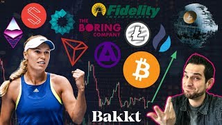 Will Bakkt & Fidelity Bring MASSIVE Capital to Crypto? Tokenized Celebrities | $ETH Fork Delayed