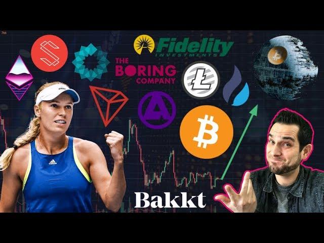 Will Bakkt & Fidelity Bring MASSIVE Capital to Crypto? Tokenized Celebrities | $ETH Fork Delayed