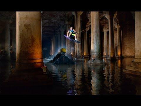 Wakeboarding the Basilica Palace - Istanbul 2012