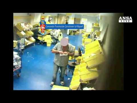 Poste italiane: filmati impiegati mentre rubavano e distruggevano corrispondenza