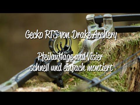 Compoundbogen Gecko RTS - Visier montieren, Pfeilauflage anbauen Schritt für Schritt erklärt