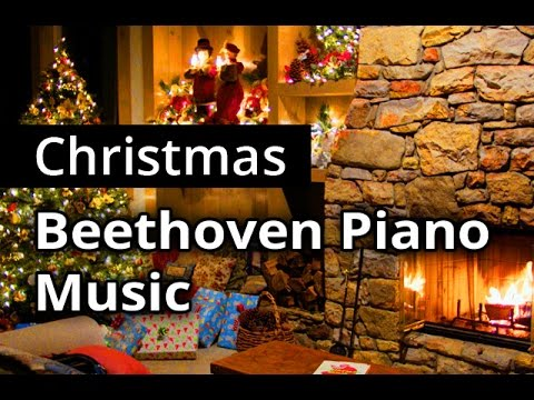 BEETHOVEN for CHRISTMAS ☆ Continuous classical music for ...