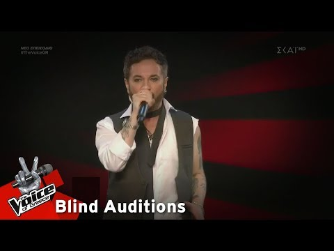 Γιώργος Βάνας – You Give Love A Bad Name | 2o Blind Audition | The Voice of Greece