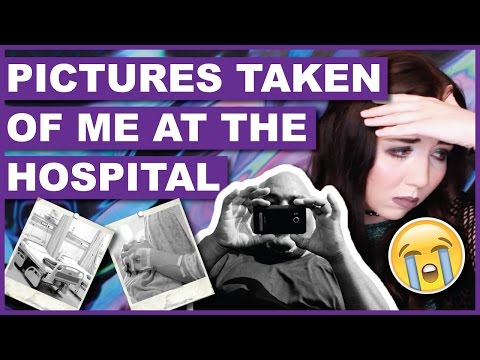 Man Was Taking Pictures Of Me At The Hospital