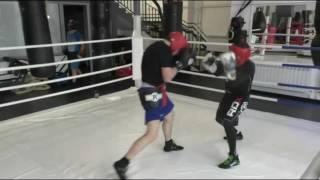 МК по боксу Пименова Валеры. 5 раунд. Ближний бой