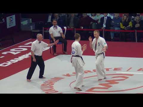 Kyokushin Karate World Championship-2017. Alexandr Drozd - Vladimir Artyushin