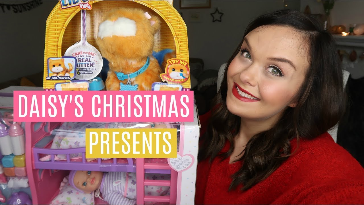 what i got my kids for christmas 2017 daisy one year old