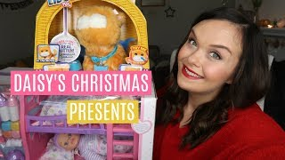 WHAT I GOT MY KIDS FOR CHRISTMAS 2017 - DAISY - ONE YEAR-OLD