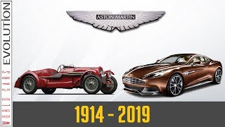 W.C.E - Aston Martin Evolution (1914-2019)