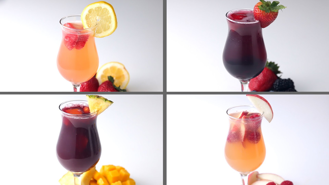 4 fresh ways to make summer sangria (video) – for her