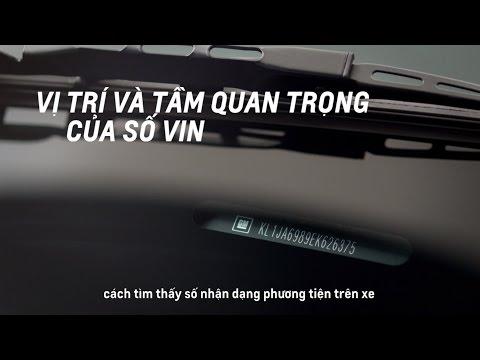 Hướng Dẫn Cách Xác Định Số VIN Trên Xe Ô Tô   Chevrolet Việt Nam