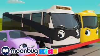Bandit Bus Cheats at The Race   Go Buster By Little Baby Bum   Kids Cartoons