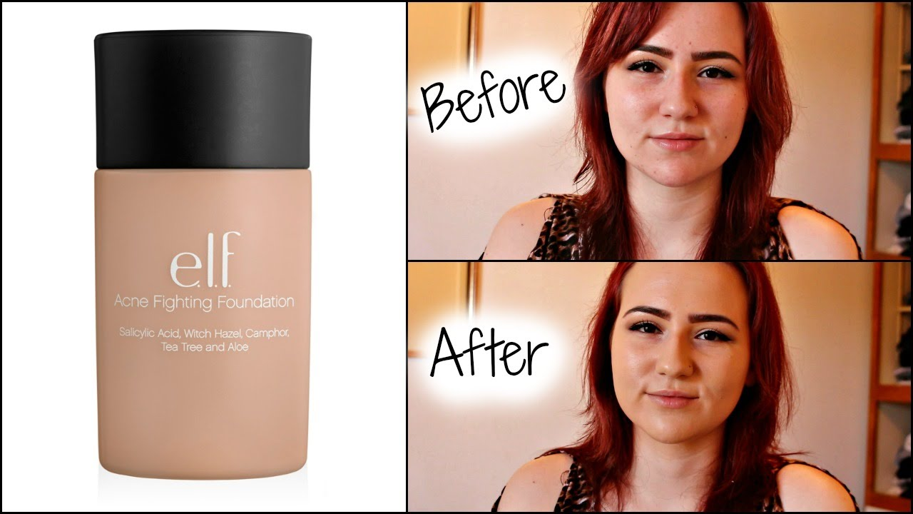 elf acne fighting foundation ivory