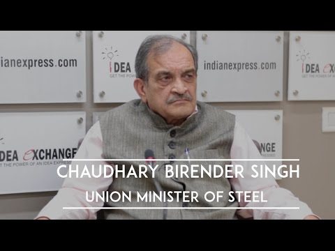 Idea Exchange With Chaudhary Birender Singh