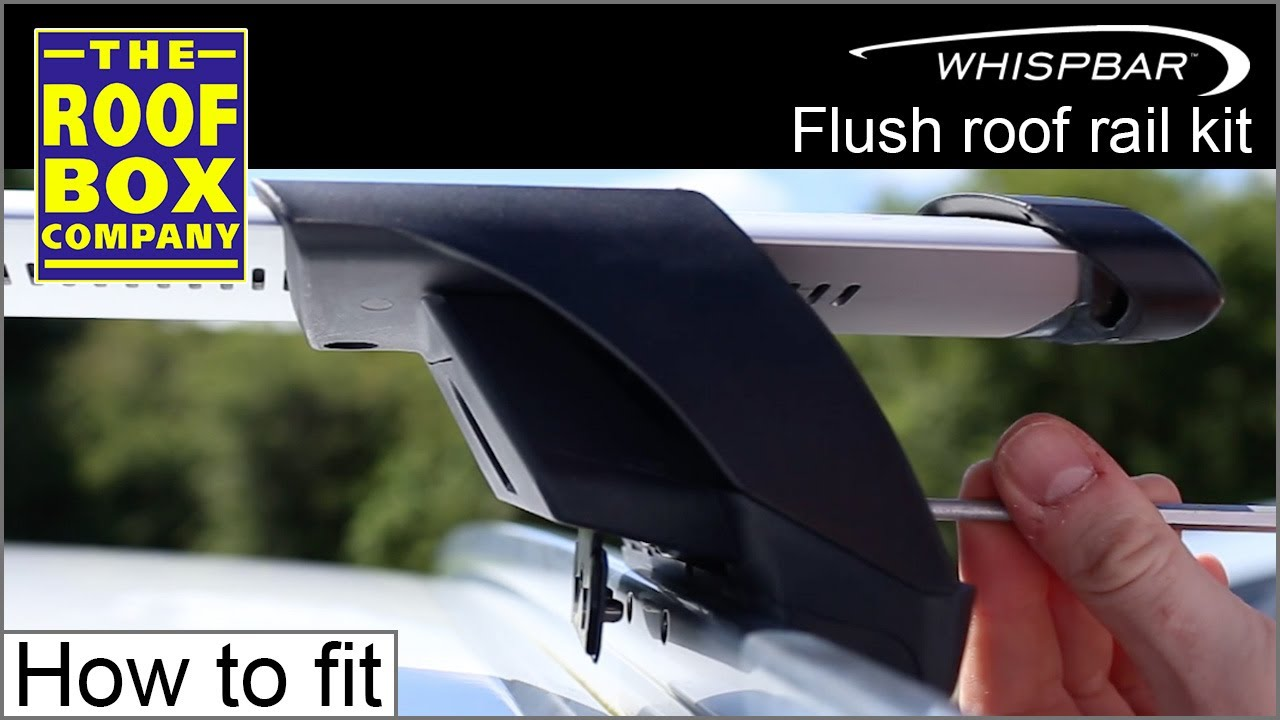 yakima whispbar flush roof rail kit k739 kit used in this demo how to fit