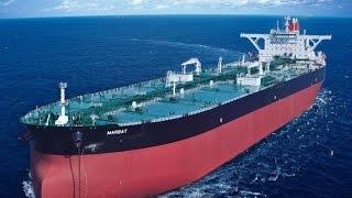 Самые большие корабли когда либо построенные в мире. Нефтеналивной танкер. Мир больших кор