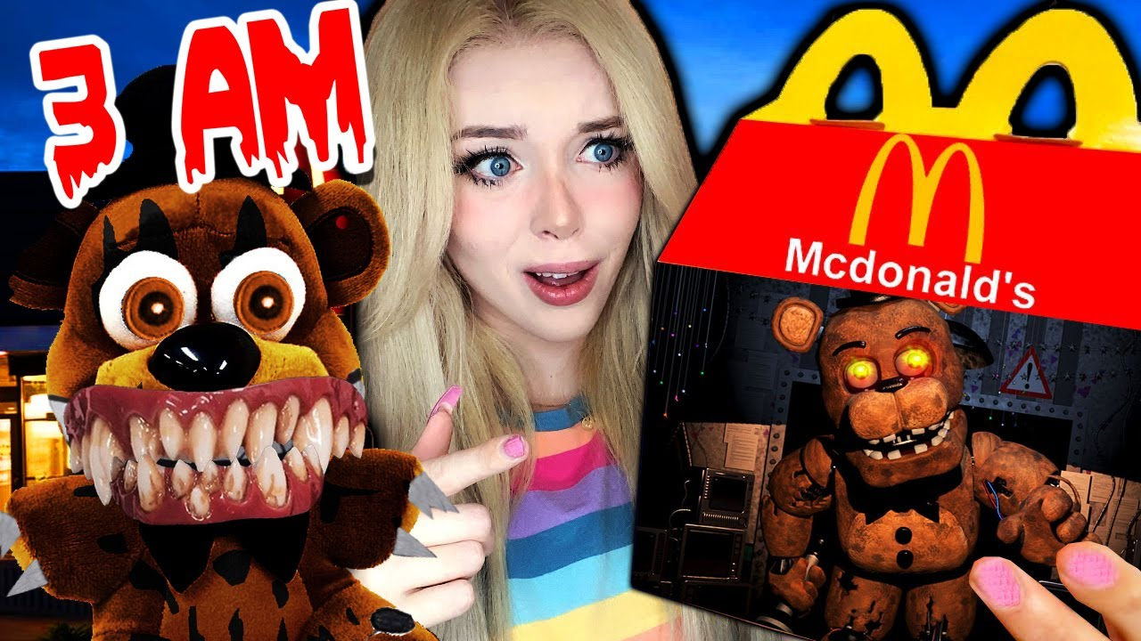 DO NOT ORDER FREDDY FAZBEAR HAPPY MEAL FROM MCDONALDS AT 3 AM!! (FNAF IS REAL)