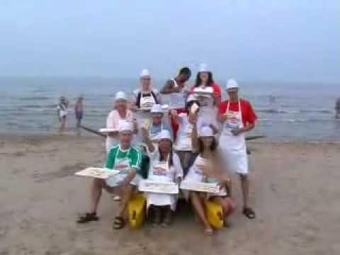 Italia 1 la Spiaggia delle Donne Riccione