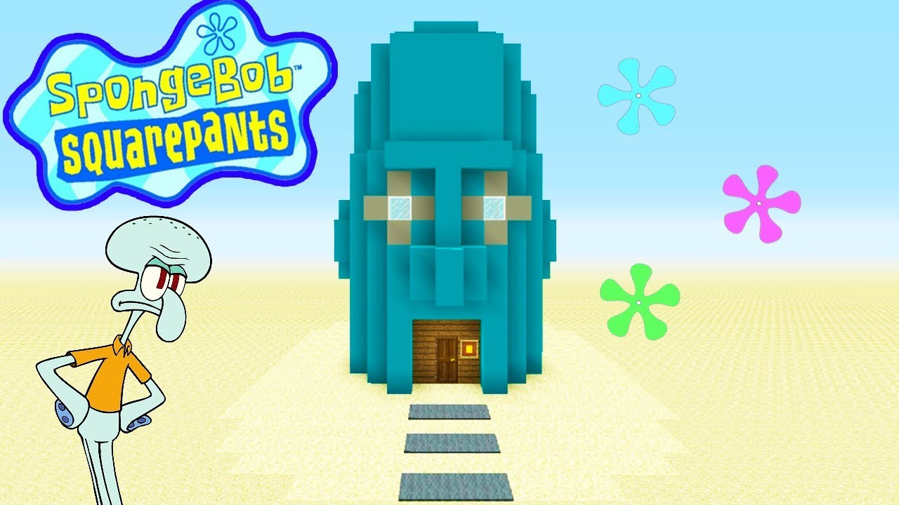 Minecraft Tutorial  How To Make Squidwards House  U0026quot Spongebob Squarepants U0026quot