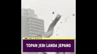 TOPAN JEBI LANDA JEPANG